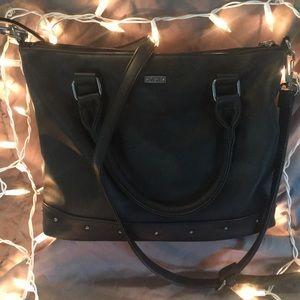 Black Vans Crossbody Bag